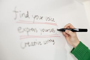find your creative writing voice